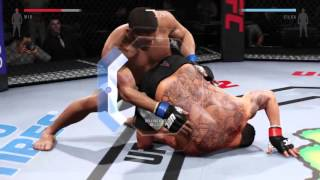 EA Sports UFC 2 all submission moves