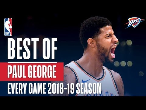 Paul George's Best Play From Every Game Of The 2018-2019 Season