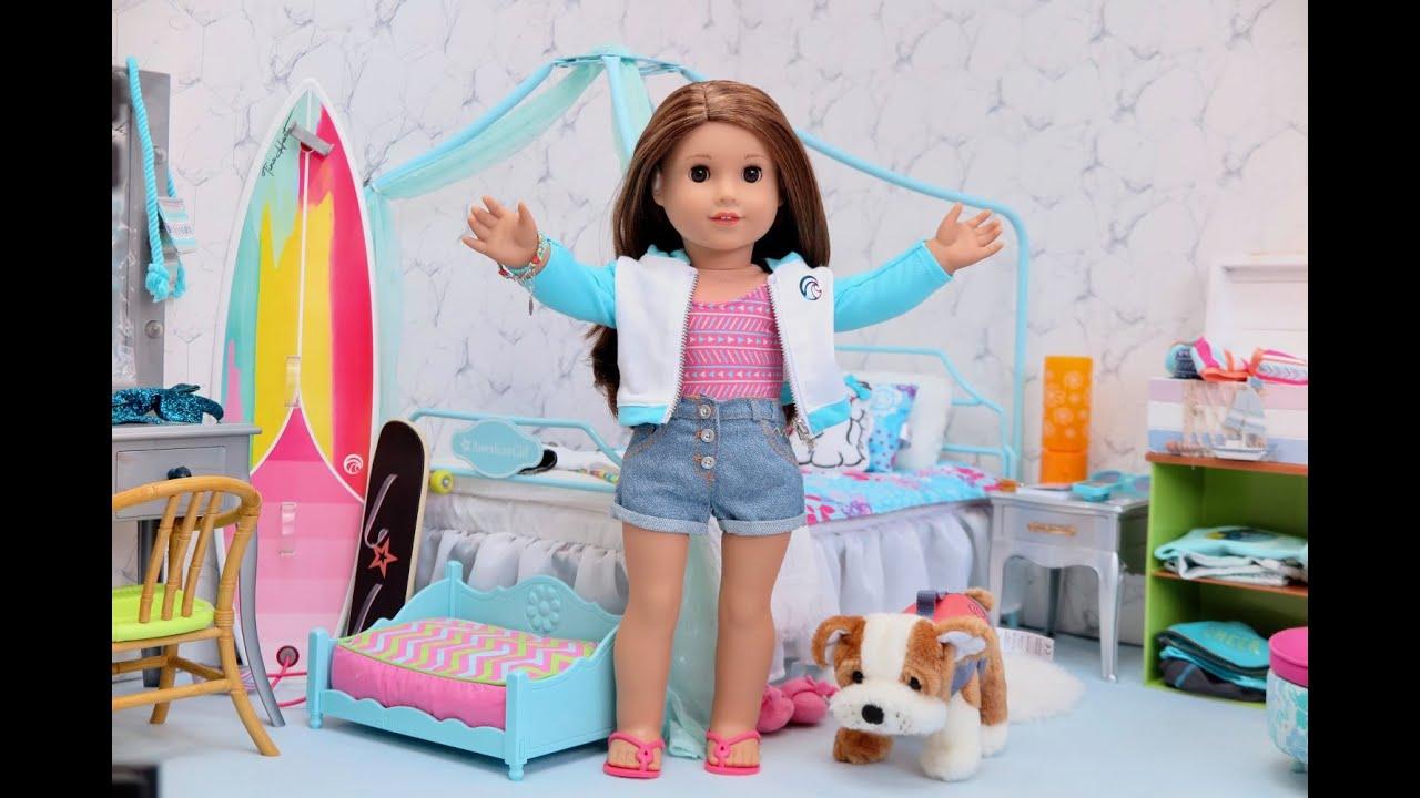 american girl doll joss bedroom 2020  room transformation