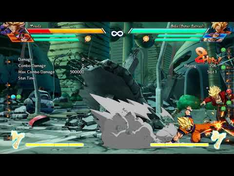 DBFZ: How to automatically punish reversals (including sparking) from a last-frame safejump