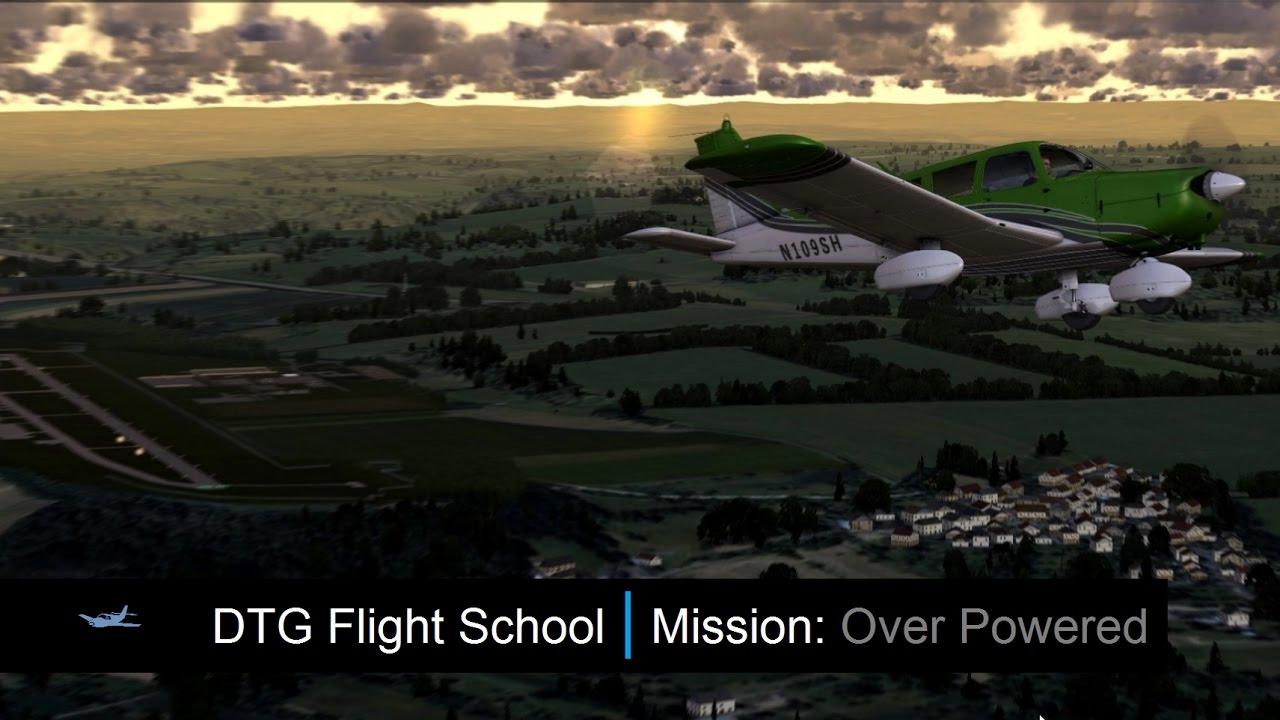 Dovetail games flight school manual - Dovetail Flight School Mission Over Powered