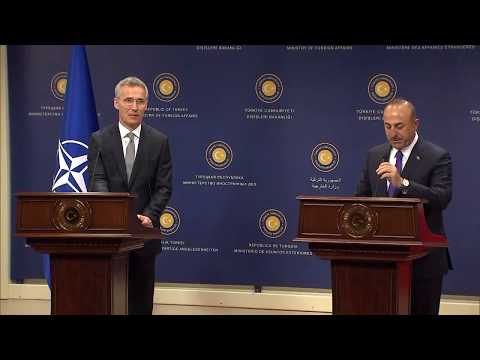 NATO Secretary General with Turkish Foreign Minister, 16 APR 2018, Part 1/2