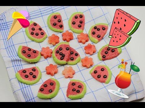 3 leckere und einfache Melonen Rezepte für den Sommer | Limonade, Kekse, Eis | carinamalia