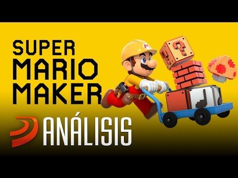 SUPER MARIO MAKER: Análisis del Mario más infinito!