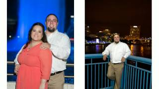 Downtown Jacksonville Engagement Photography | Severine Photography