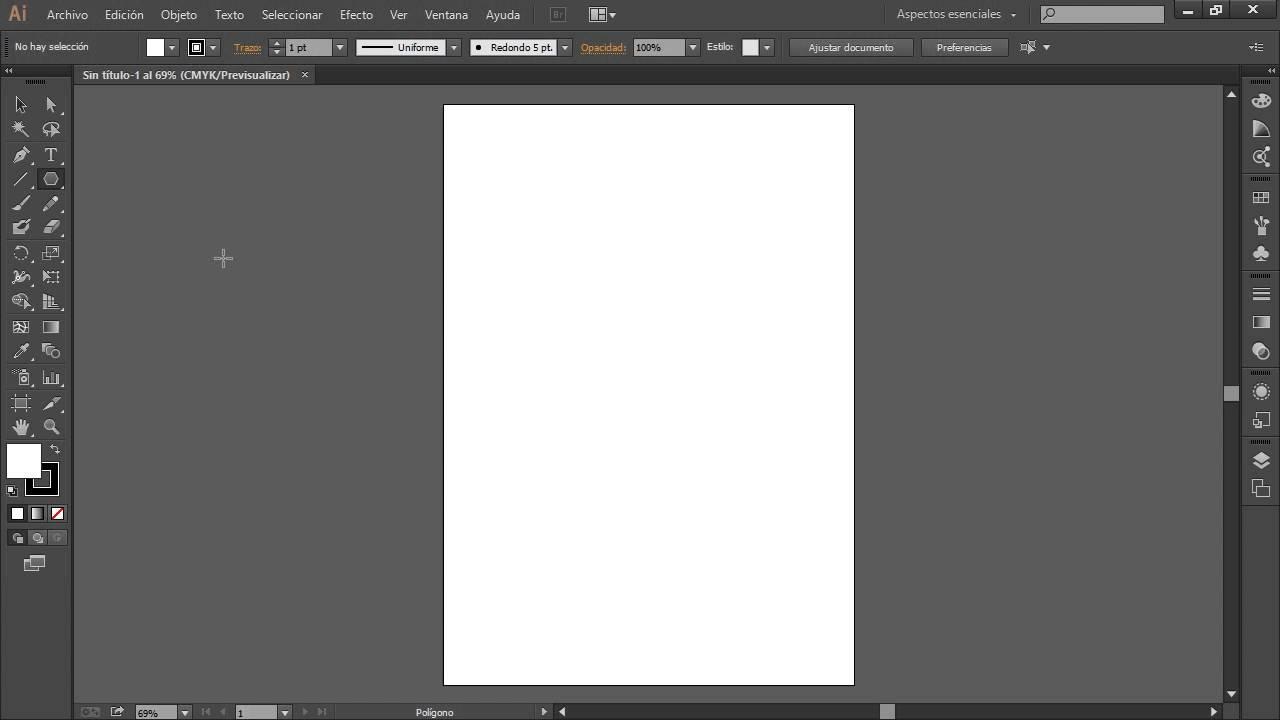 Curso illustrator CC CS6 Introducción 04 La Barra de