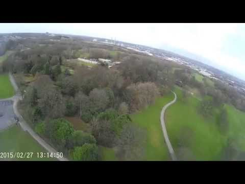 Drone Flight over Sherdley Park, St Helens