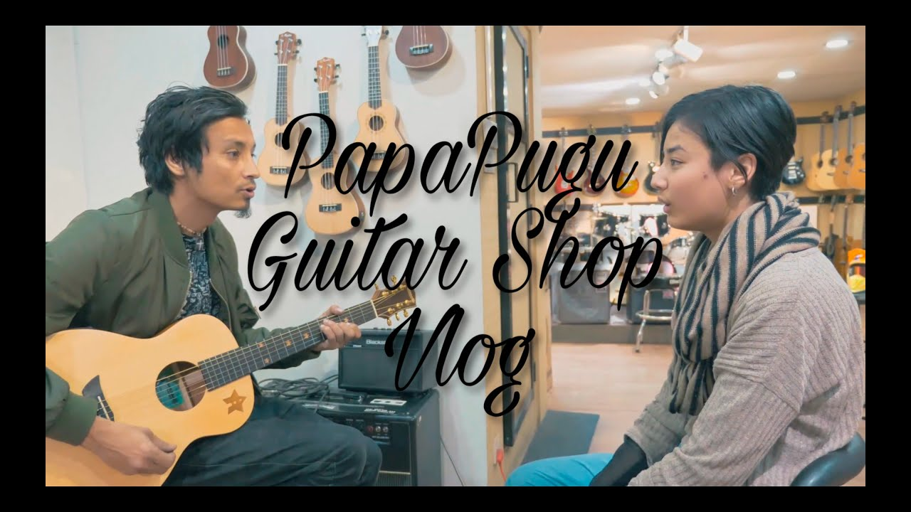 old memories me and pugu went to guitar shop (re-edited) vlog