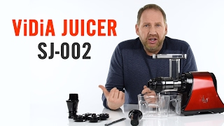 Vidia Slow Juicer SL-002 - Product Overview