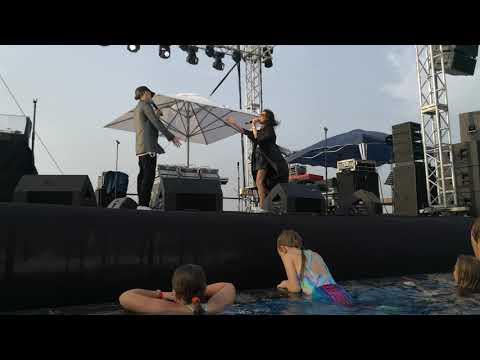 #2Маши, мама я танцую, poolparty, Russian music festival 2019, saadiyat beach club, хорошее качество