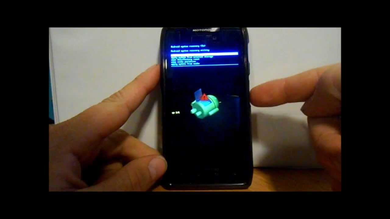 Droid Razr Maxx How To Reset A Frozen Screen, Stock Recovery, And Enter  Boot Mode