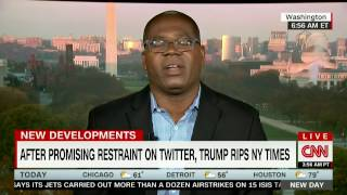 CNN: Dr Jason Johnson on SNL, Dave Chappelle, Trump & Breitbart 11/14/16