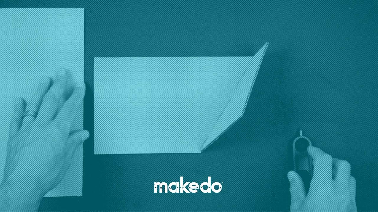 "Image result for how to fold cardboard makedo"""