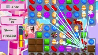Candy Crush Saga Level 496 Clear all the Jelly!