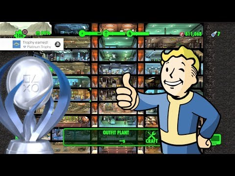 THE BEST VAULT YOU'VE EVER SEEN! (Platinum Trophy) | Fallout Shelter
