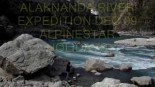 The Alaknanda River Rafting Expedition 09