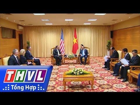 THVL | Thủ tướng Chính phủ Nguyễn Xuân Phúc tiếp Bộ trưởng ngoại giao Hoa Kỳ