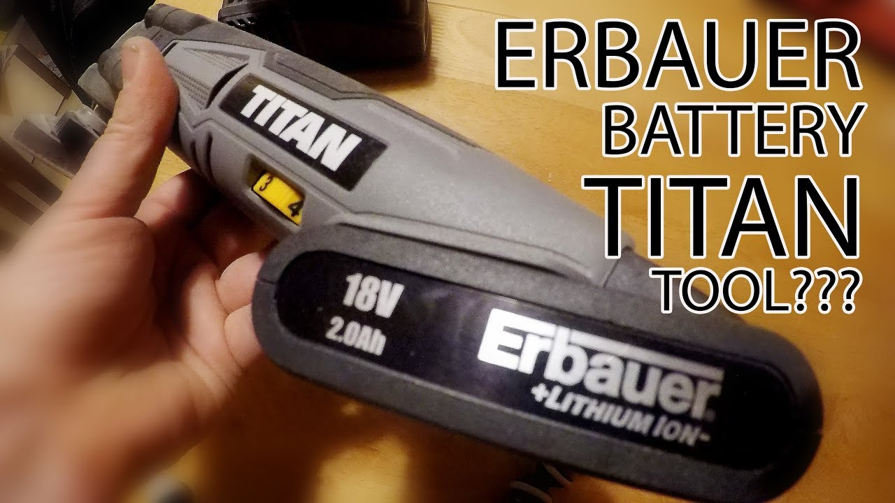 Erbauer battery in Titan tools????