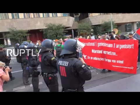 LIVE: Blockupy-Protest hits Berlin streets