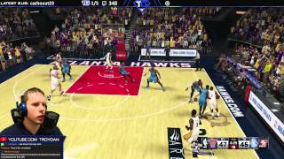 Emotional NBA2k15 myTeam game