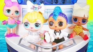 Punk Boi LOL Surprise Dolls Honeymoon with JOJO Get Married