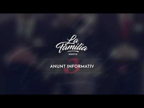 La Familia - Anunt Informativ