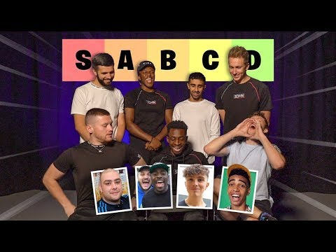 SIDEMEN RATE UK YOUTUBERS
