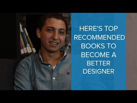 Here's top recommended books to become a better Designer