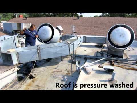 How to Pressure Wash Commercial Kitchen Exhaust Hoods, Ducts, and Fans