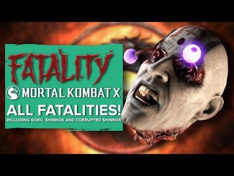 Mortal Kombat X - all the Fatalities