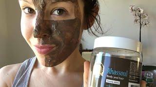 Comment utiliser le Rhassoul en masque sur son visage, une jolie peau facilement .