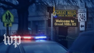 Two students shot, gunman killed at Md. high school