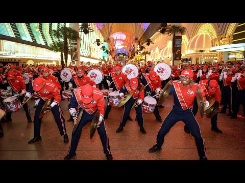 Fresno State takes over Fremont Street and shines during Las Vegas Bowl pre-game events