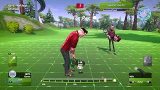 Powerstar Golf: Xbox One Gameplay Video. (First 15 minutes)