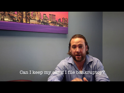 Keeping a Car If Filing Bankruptcy | Frequently Asked