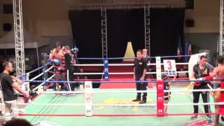 Anthony GAZEL VS Lahoucine IDOUCHE  Finale Championnat de FRANCE AFMT 2015 Classe A  67kg