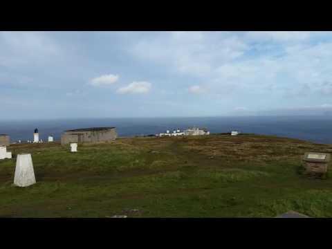 Dunnet Head summit, furthest north on mainland uk