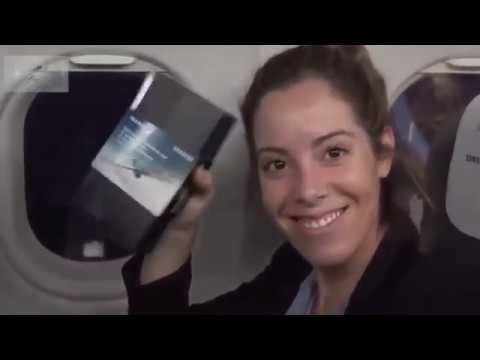 Samsung iberia airlines hands out 200 free Galaxy Note 8 units on a plane samsung galaxy note 8