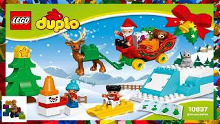 LEGO instructions - DUPLO - 10837 - Santa's Winter Holiday