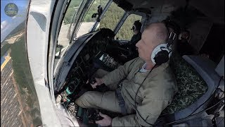 WORLD'S LARGEST HELI! Low-Pass from Cockpit Mi-26! 70 People aboard, 56 TONS max Weight!! [AirClips]