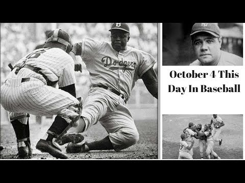 Dodgers win the 1955 World Series