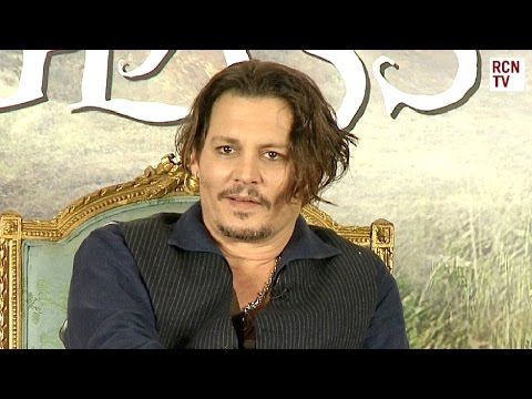 Johnny Depp Interview Alice Through The Looking Glass Premiere