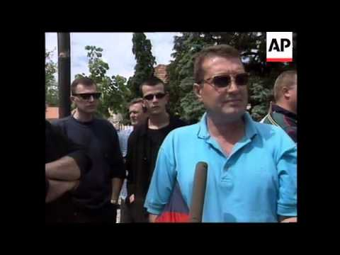 MONTENEGRO: PROTESTS AGAINST YUGOSLAV TROOPS PRESENCE