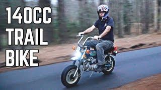 Honda Trail 70 Return   The Street Legal Mini Bike!