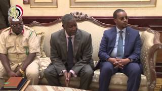 بالفيديو.. الفريق محمود حجازي يستقبل قائد الجيش الصومالي