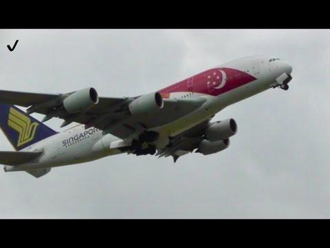 Low Cloud *Heavy Takeoffs* RW27R London Heathrow Airport Inc. 6xA380s, Finnair A350...✈️✈️☁️