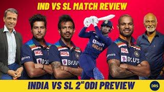 India vs Sri Lanka 1st ODI Review and 2nd ODI Preview | The Dressing Room Show
