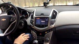 Обзор Шевроле Круз 1,8MT LT 2015 Chevrolet Cruze