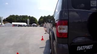 UAZ Patriot / УАЗ Патриот на полосе препятствий