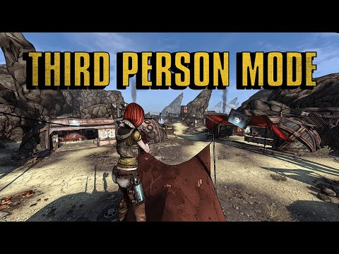 There's A Mod That Turns 'Borderlands' Into a Third Person Shooter